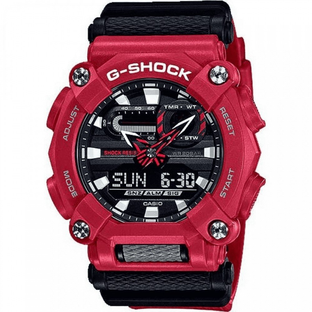 Relogio Masculino Casio G-shock Anadigi Ga-100-1a4dr
